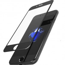 محافظ صفحه iPhone 7 RockSpace Full Screen Color 3D Glass