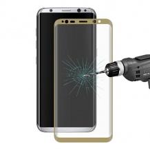 محافظ صفحه گلس رنگی خم برای Samsung Galaxy S8