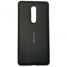 کیس محافظ طرح چرم Nokia 5 PU