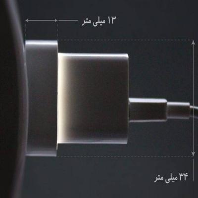 مبدل دو به دو Hadron HTH-A08 Adaptor