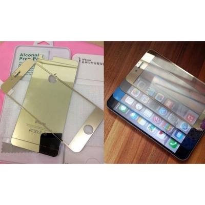 محافظ رنگی GLASS برای IPHONE 6 / 6S  - پشت و رو