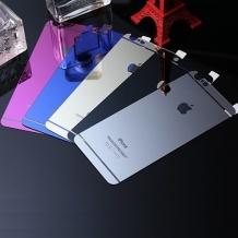 محافظ طلایی GLASS برای IPHONE 6 PLUS - پشت و رو