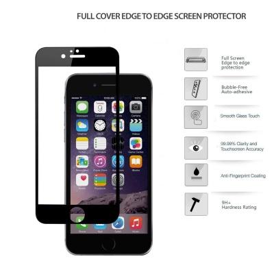 محافظ رنگی GLASS برای IPHONE 6  - پشت و رو