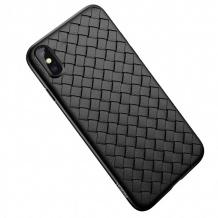 کیس محافظ Rock iPhone X / XS Ultrathin Weave