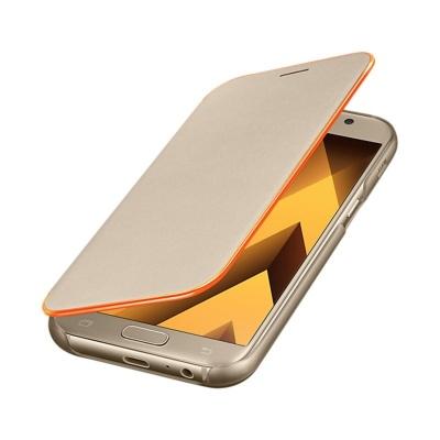 فلیپ کاور اصلی Samsung Galaxy A3 (2017) Neon Flip Cover