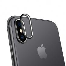 محافظ لنز دوربین و سوزن سیمکارت Coteetci iPhone X