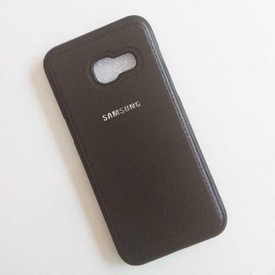کیس محافظ طرح چرم Samsung Galaxy A3 2017 PU