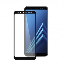 محافظ صفحه Samsung Galaxy A8 2018 Color 3D Glass