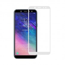 محافظ صفحه Samsung Galaxy A6 2018 Color 3D Glass