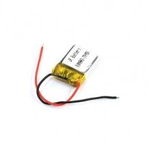 باتری لیتیوم پلیمر 3.7 ولت با ظرفیت 80mAh