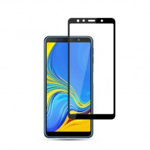 محافظ صفحه Samsung Galaxy A7 2018 / A750 Color 5D Glass