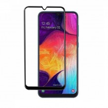محافظ صفحه Samsung Galaxy A50 Color 5D Glass