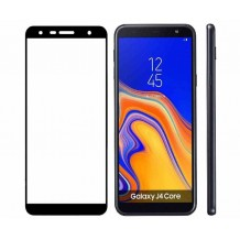 محافظ صفحه Samsung Galaxy J4 Core / J410 Color 5D Glass