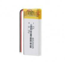 باتری لیتیوم پلیمر 3.7 ولت با ظرفیت 350mAh