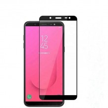 محافظ صفحه Samsung Galaxy J8 Color 5D Glass