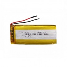 باتری لیتیوم پلیمر 3.7 ولت با ظرفیت 850mAh
