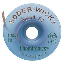 سیم قلع کش چمترونیکس مدل Chemtronics SODER-WICK SW18035