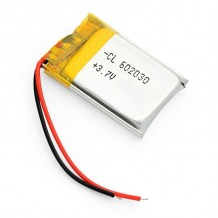 باتری لیتیوم پلیمر 3.7 ولت با ظرفیت 500mAh