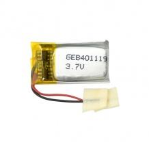 باتری لیتیوم پلیمر 3.7 ولت با ظرفیت 150mAh