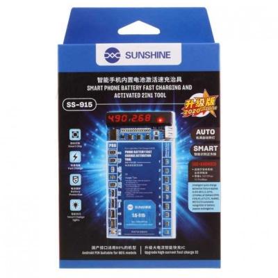 کیت تست، شارژ و شوک دهنده باتری سانشاین مدل SUNSHINE SS-915