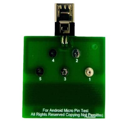 تستر سوکت شارژ میکرو یو اس بی Micro USB Dock Flex Test