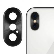 محافظ فلزی لنز دوربین اپل Apple iPhone X / XS / XS Max