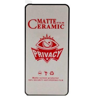 محافظ صفحه گلس سرامیکی پرایوسی Apple iPhone 12 Pro