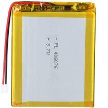 باتری لیتیوم پلیمر 3.7 ولت ظرفیت 3000mAh سایز 406075