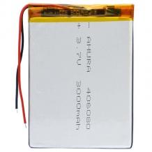 باتری لیتیوم پلیمر 3.7 ولت ظرفیت 3000mAh سایز 406080