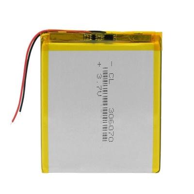 باتری لیتیوم پلیمر 3.7 ولت با ظرفیت 2500mAh سایز 306070