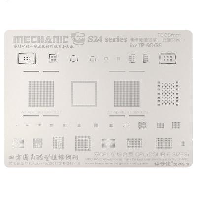 شابلون مکانیک آیفون Mechanic S24 0.12MM iPhone 5 / 5S
